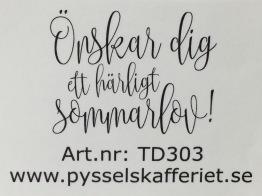 TD303 -