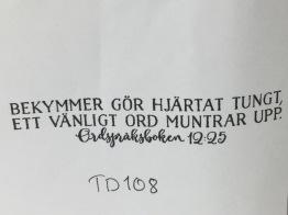 TD108 -