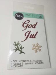 Sizzix 662158 God Jul -