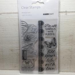 Kaisercraft - Clear Stamps - Memory Lane -