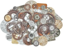 Kaisercraft Factory 42 Double-Sided Cardstock Die-cuts -