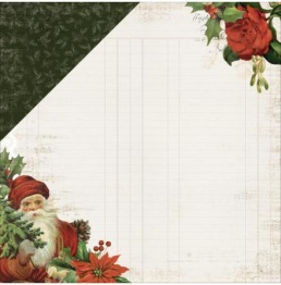 Kaisercraft Letters To Santa Double-Sided Cardstock 12X12 -