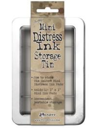 Storage Tin Mini Distress -