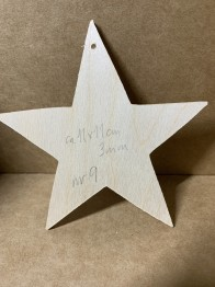 Trä-stjärna nr 9 -