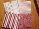 Origamipapper Förp med 40 ark - Origamipapper röda nyanser 10x10 cm 40 ark