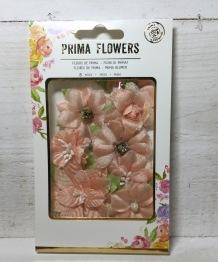 Prima Santa Baby Fabric flowers -