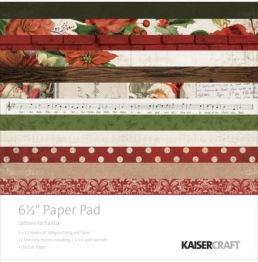Kaisercraft Letters To Santa block 6,5x6,5 -