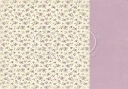 Violet field - Easter Greetings -