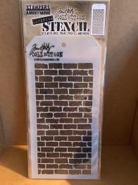 Stencil Tim Holtz Bricked THS038 -