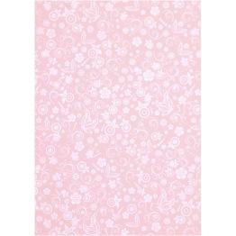 Papper, rosa, A4 210x297 mm, 80 g, 20 ark