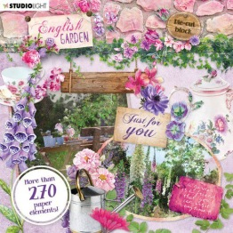 Studio Light Die Cut Book 15x15 English Garden