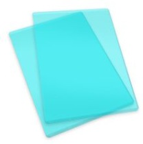 Sizzix Cutting Pads 6.125X8.875 1 Pair - Standard/Mint