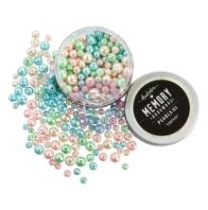 Prima Memory Hardware Glass Pearls 3 - Fantasy