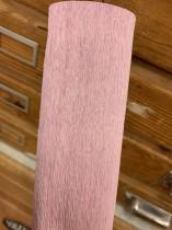Italienskt crepepapper rosa nr 360, 90 gram 50 cm x 1,5 m