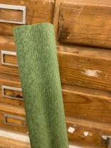 Italienskt crepepapper Grön nr 366, 90 gram, 50 cm x 1,5 m