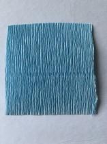 Italienskt crepepapper 180 gram, 50x250 cm nr 556 blå
