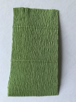 Italienskt crepepapper 180 gram, nr 562 grön