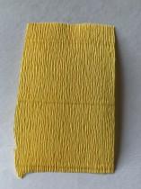 Italienskt crepepapper 180 gram, nr 578 gul