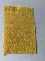 Italienskt crepepapper 90 gram, 50x150 cm, nr 370 varm gul