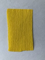 Italienskt crepepapper 90 gram, 50x150 cm, nr 372 gul