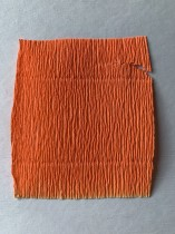 Italienskt crepepapper 180 gram, nr 581 fluo-orange