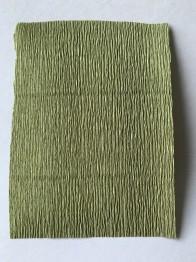Italienskt crepepapper 180 gram, nr 612 grön