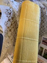 Italienskt crepepapper 180 gram, 50 cm x 250 cm, nr 578