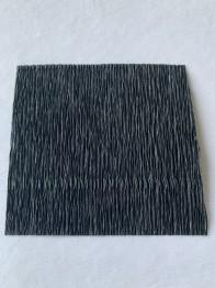 Italienskt crepepapper 180 gram, nr 602 svart