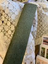 Italienskt crepepapper 90 gram, 50 x 150 cm, nr 368 grön