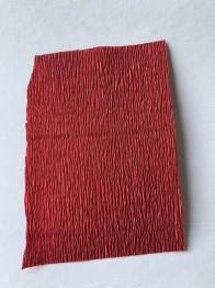 Italienskt crepepapper 180 gram, nr 583 varm röd mörk
