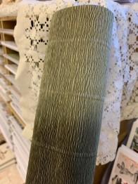 talienskt crepepapper 180 gram, 50 x 250 cm, nr 612 mörk grön
