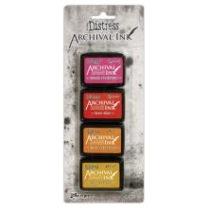 Distress Archival inkpad - minidyna 4-pack, klicka på bilden för alla färger