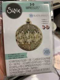 Sizzix 3D impresslits 664505