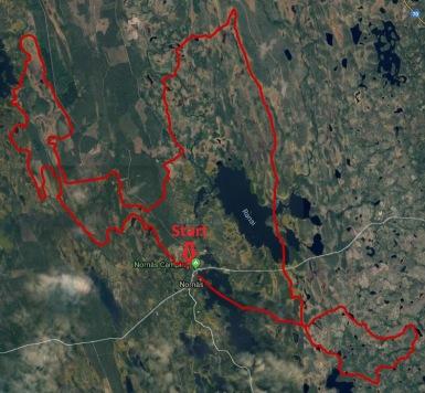 Vildmarksracet Stage 1