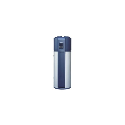 En 300 liters varmvattenberedare modell med solslinga och inbyggd luftvärmepump! Spara upp till 70% på ditt tappvarmvatten. Invest Living VVP-300
