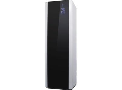 En 200 liters varmvattenberedare modell med solslinga och inbyggd luftvärmepump! Spara upp till 70% på ditt tappvarmvatten. Invest Living VVP-200