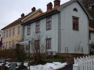 Hörnet Hamnvägen - Vingränd.
