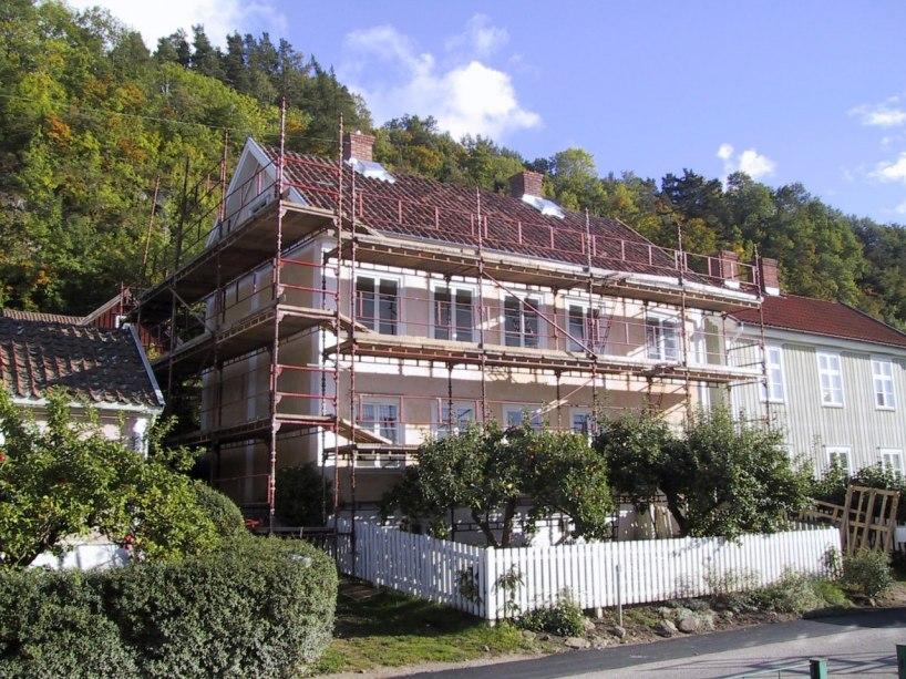 Fasadputsning 2001.