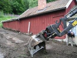 Andra grävomgången (aug 2005).
