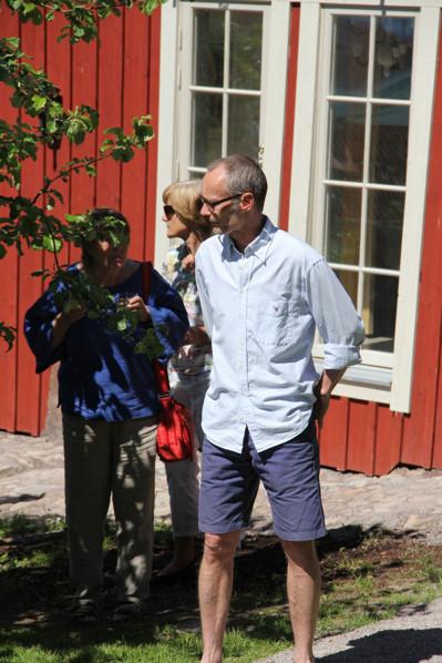 Håkan Jorikson berättade om Två Liljors historia.