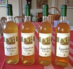 2010 års äppelvin färdigbuteljerad