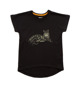 T-shirt Clouded Leopard Black