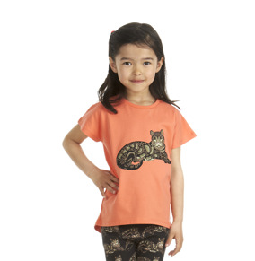 T-shirt Clouded Leopard Coral