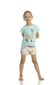 Shorts Alpaca AOP