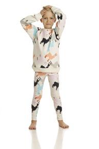 Leggings Alpaca AOP