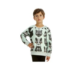 Reversible Sweatshirt Raccoon