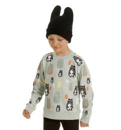 Sweatshirt AOP Raccoons