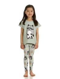 Leggings Raccoon AOP