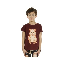 T-shirt Fat Cat