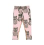 Leggings Fat Cats + Pug Rose AOP